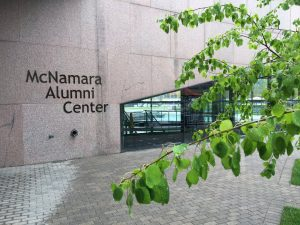 McNamara Alumni Center Exterior